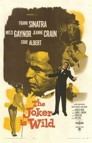 1957 - The Joker is Wild Movie Poster