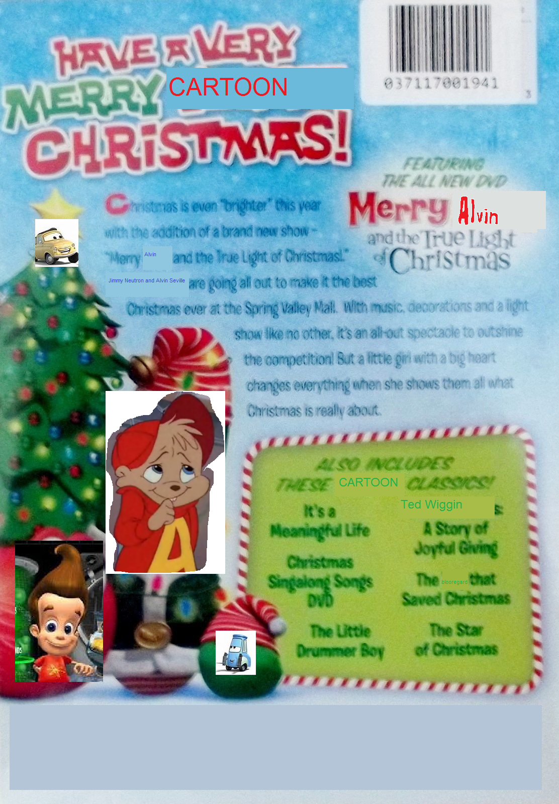 cartoontales christmas classics dvd back coverpng - Christmas Classics Dvd