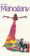 Mahogany 1991 VHS (Front Cover)