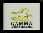 Gamma Audio & Video, Inc. Logo