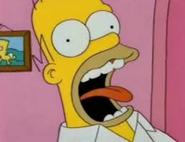Homer Simpson Screams
