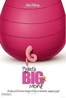 Piglet Big Movie (2003) Poster