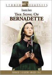 1943 - The Song of Bernadette DVD Cover (2003 Fox Studio Classics)