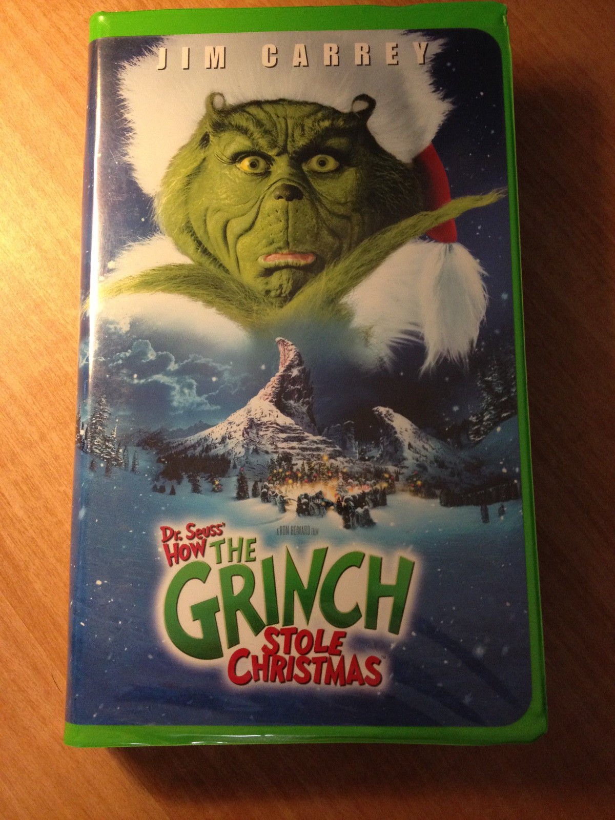 red fbi warnings the grinch vhs - How The Grinch Stole Christmas Vhs
