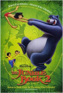 The Jungle Book 2 (2003) Poster
