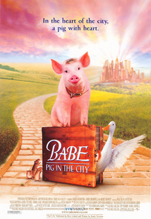 Babe Pig In The City (1998) Poster