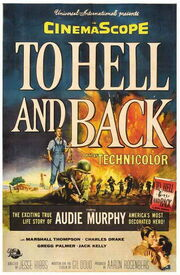 1955 - To Hell and Back Movie Poster
