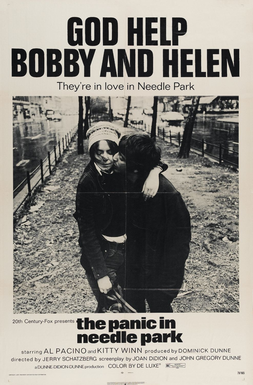 Risultati immagini per THE PANIC IN NEEDLE PARK ( 1971 ) POSTER