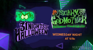 Disney XD Toons 31 Nights of Halloween Scary Godmother Halloween Spectacular Promo 2019