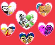 Happy valentine's day first