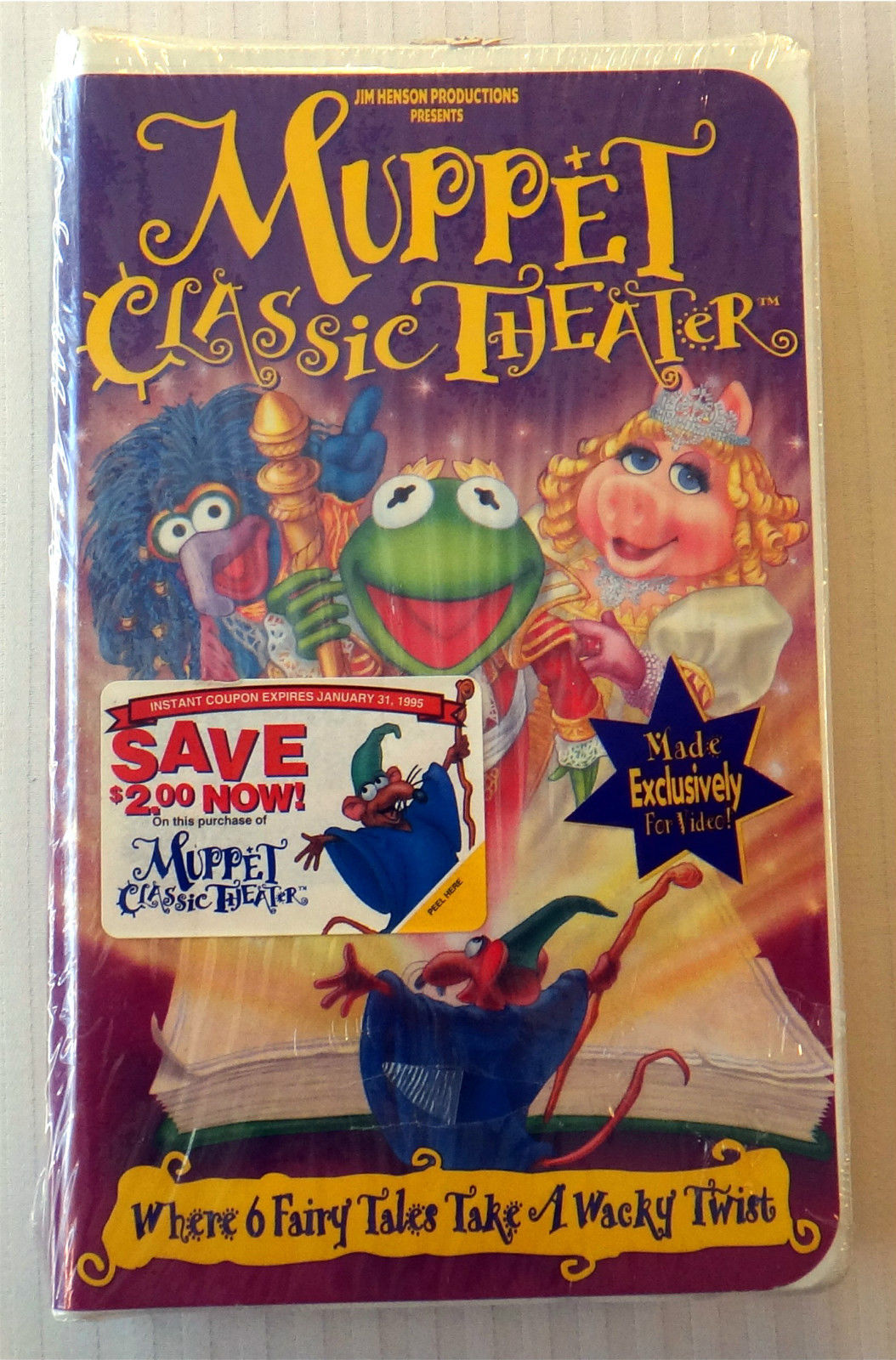 Opening To Muppet Classic Theater 1994 VHS (Buena Vista ... The Muppet Movie Vhs 1994