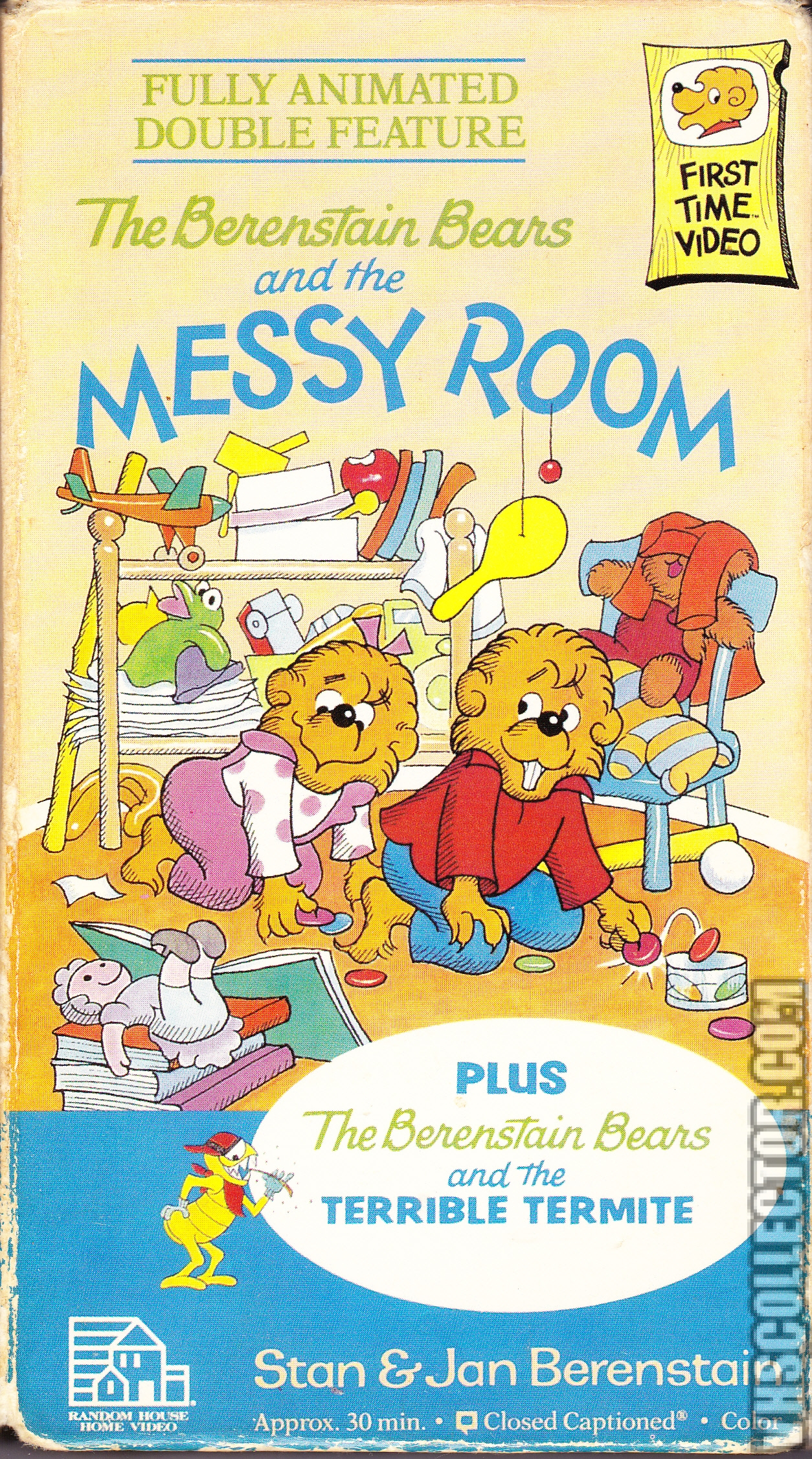 Image The Berenstain Bears And The Messy Room Vhs Front
