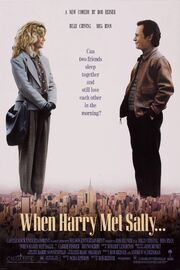 1989 - When Harry Met Sally Movie Poster