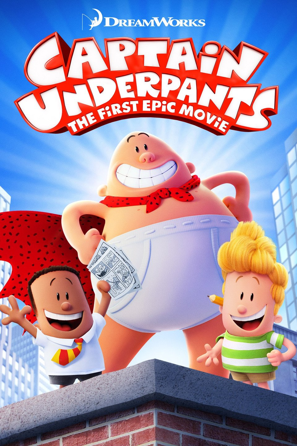 opening to captain underpants: the first epic movie 2002 vhs