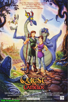 Quest For Camelot (1998) Poster