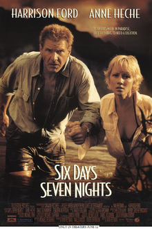 Six Days Seven Nights (1998) Poster