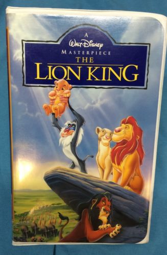 opening to the lion king 1995 vhs  new line home video