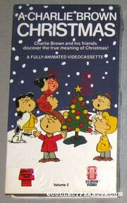 A Charlie Brown Christmas Vhs.Opening And Closing To A Charlie Brown Christmas 1981 Vhs