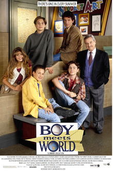 Boy Meets World Summer Vacation (1998) Theatrical Poster