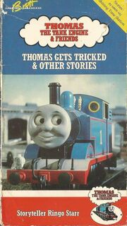 Thomas Gets Tricked and Other Stories (VHS Tape 1990)