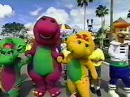 Barney,BabyBopandBJinKidsForCharacter