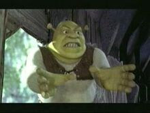 Shrek Angry