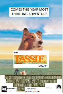 Lassie 1998 Re-Release Poster