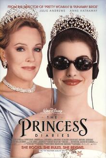 The Princess Diaries (2001) Poster