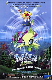 Pokemon 4Ever (2002) Poster