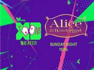 Disney XD Toons Theater Alice In Wonderland Promo 2017