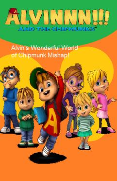 Alvin's Wonderful World of Chipmunk Mishap DVD