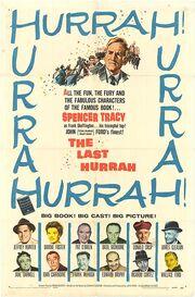 1958 - The Last Hurrah Movie Poster