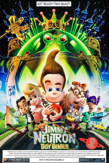Jimmy Neutron Boy Genius (2001) Poster