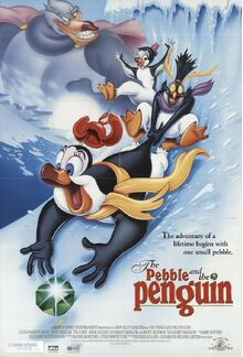 The Pebble And The Penguin 1995 Poster