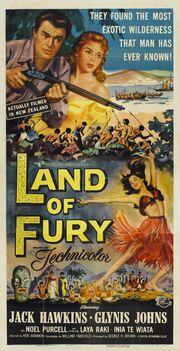 1954 - Land of Fury Movie Poster