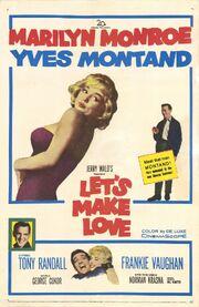 1960 - Let's Make Love Movie Poster