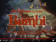 Bambi 1988 Re-Release Trailer