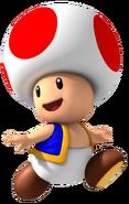 Toad Mario series