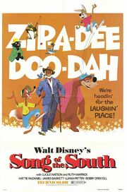 1946 - Song of the South Movie Poster