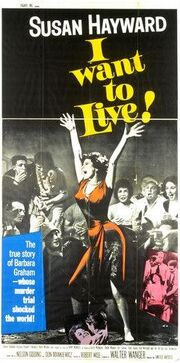 1958 - I Want to Live! Movie Poster -2