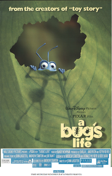 A Bugs Life (1998) Theatrical Poster