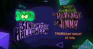 Disney XD Toons 31 Nights of Halloween Scary Godmother The Revenge of Jimmy Promo 2019