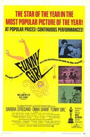 1968 - Funny Girl Movie Poster