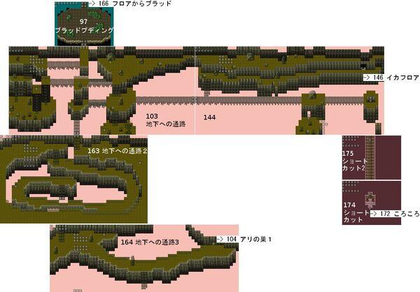 RyonaRPG - Rock mountain cave map 2