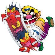 Wario Shakes Red Bandinero