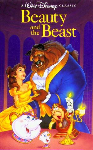 Beauty And The Beast on VHS