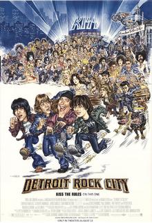 Detriot Rock City (1999) Poster