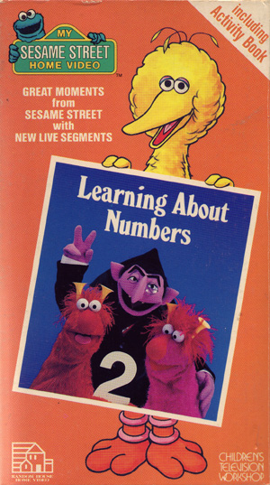 Opening To Sesame Street Learning About Numbers 1986 Vhs