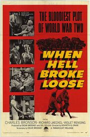 1958 - When Hell Broke Loose Movie Poster