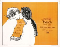 1971 - Friends Movie Poster